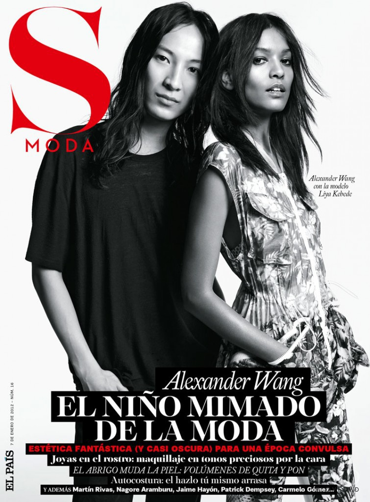 Alexander Wang featured on the S Moda cover from January 2012