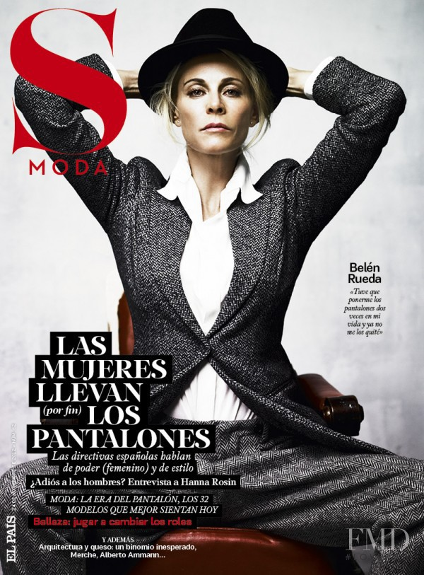 Belén Rueda featured on the S Moda cover from November 2012