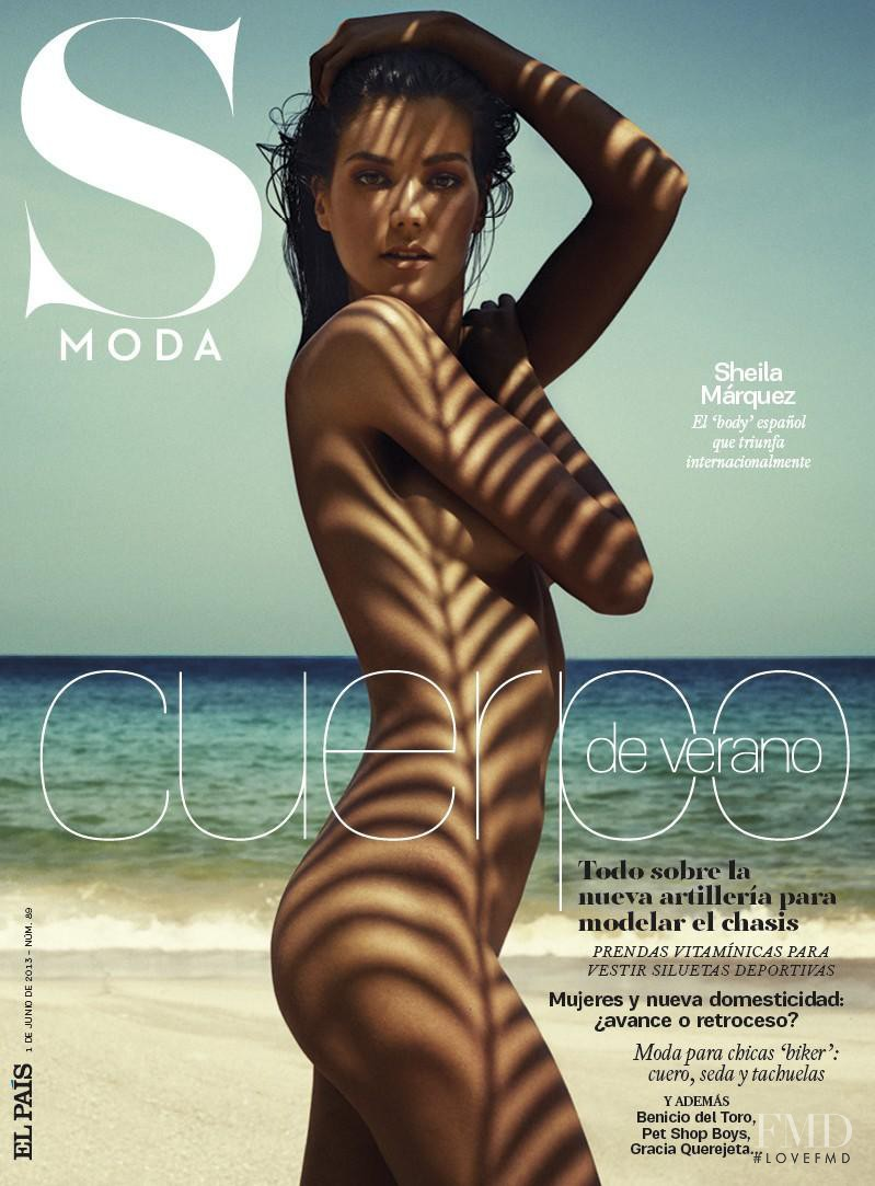Sheila Marquez featured on the S Moda cover from June 2013