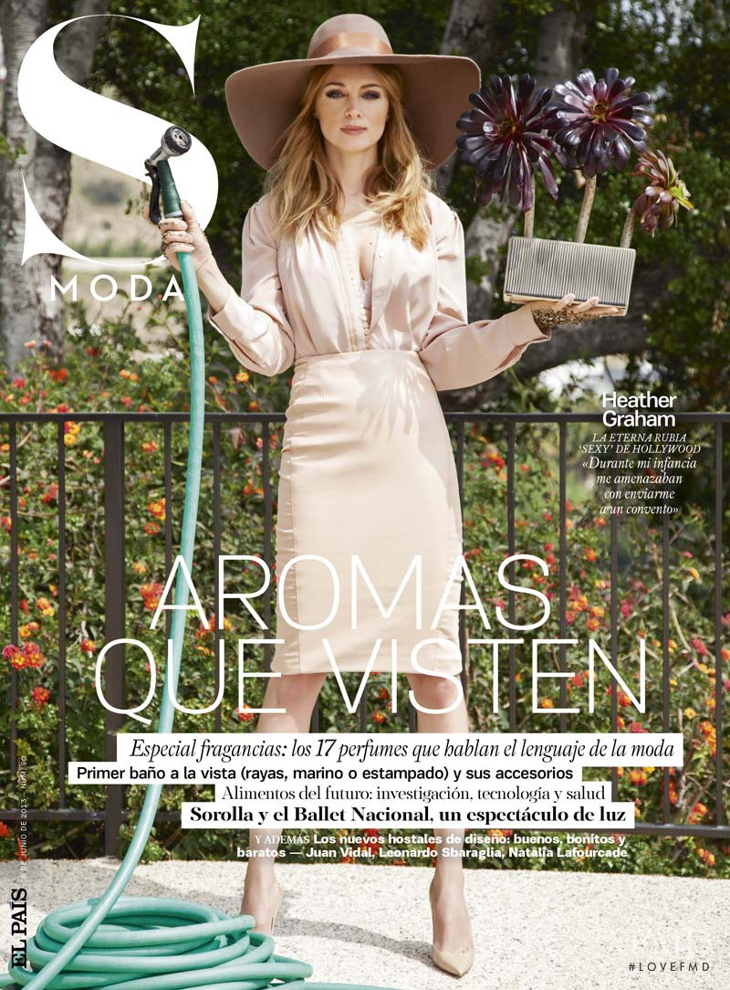 Heather Graham featured on the S Moda cover from June 2013