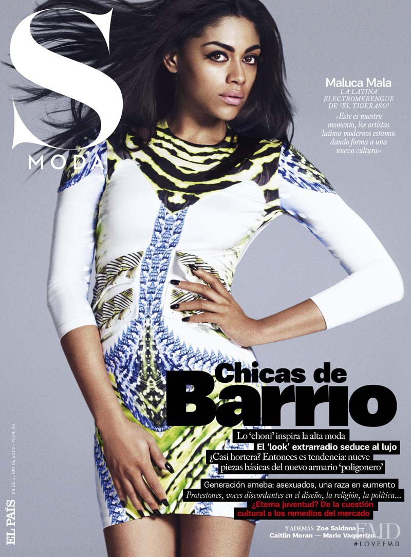 Maluca Mala featured on the S Moda cover from June 2013