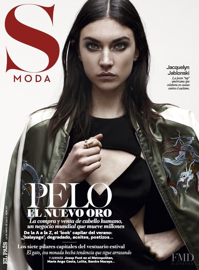 Jacquelyn Jablonski featured on the S Moda cover from May 2013