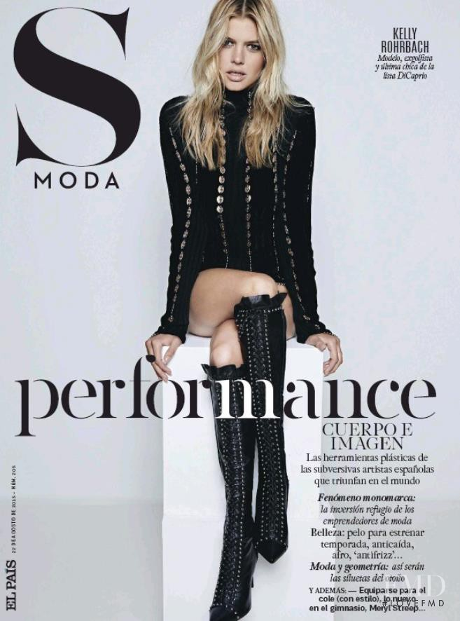 featured on the S Moda cover from September 2015