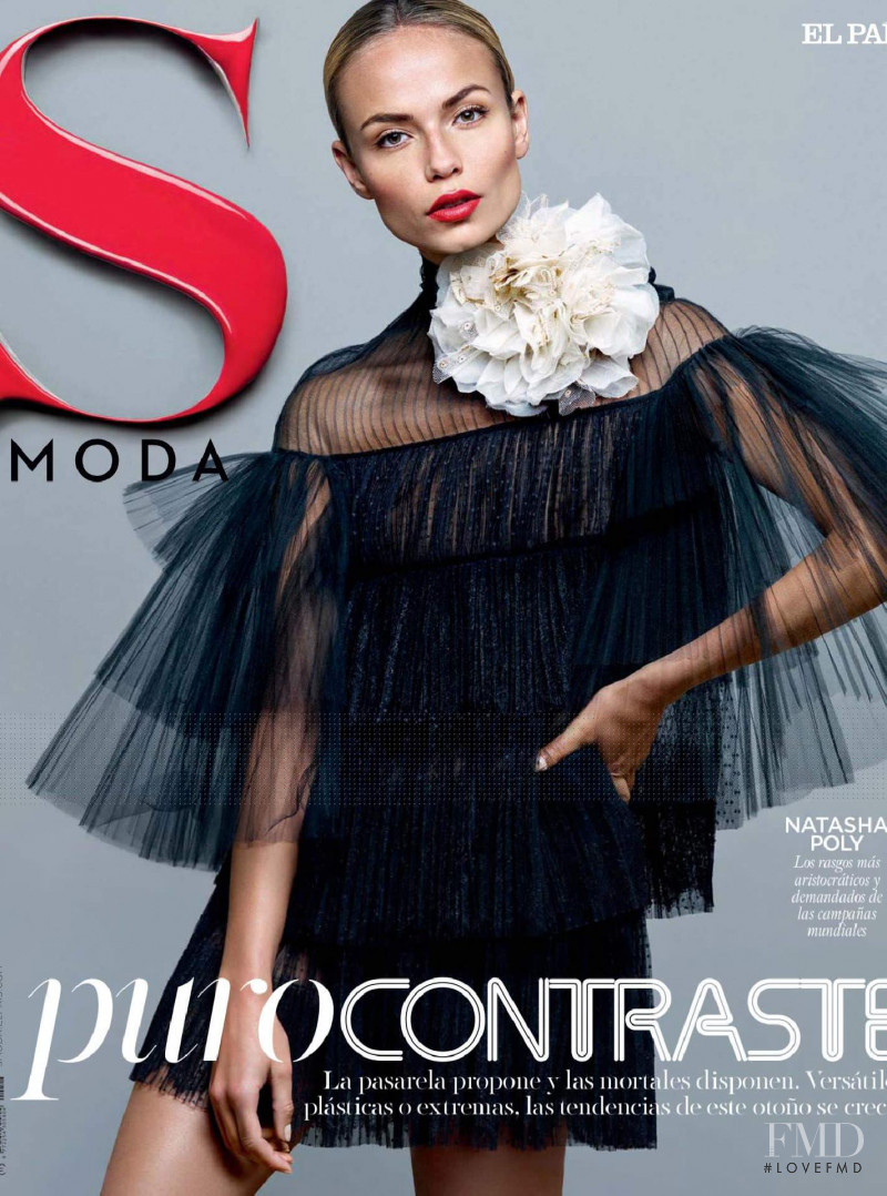 Natasha Poly featured on the S Moda cover from September 2015