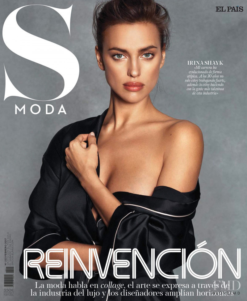 Irina Shayk featured on the S Moda cover from February 2017