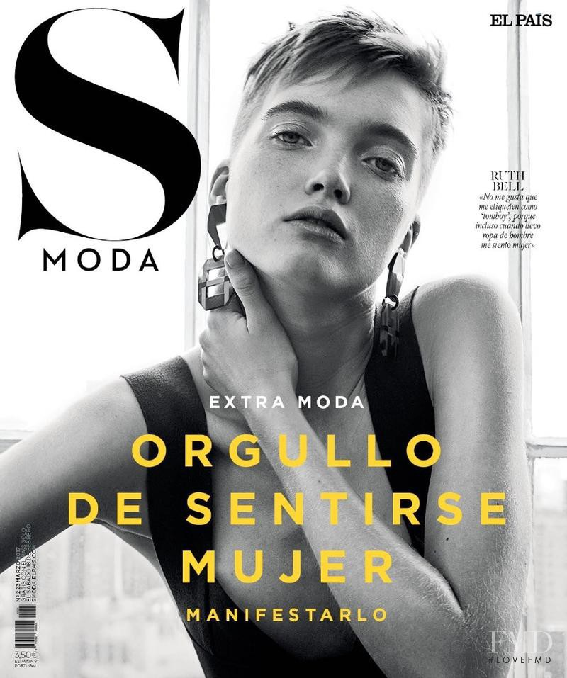 Ruth Bell featured on the S Moda cover from March 2017