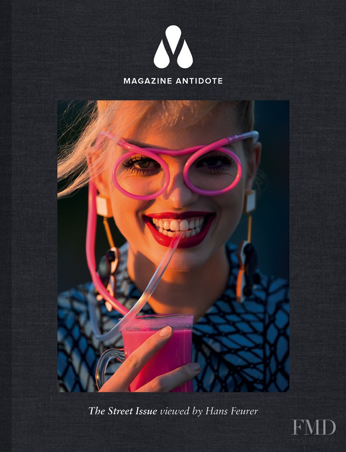 Daphne Groeneveld featured on the Antidote cover from March 2013