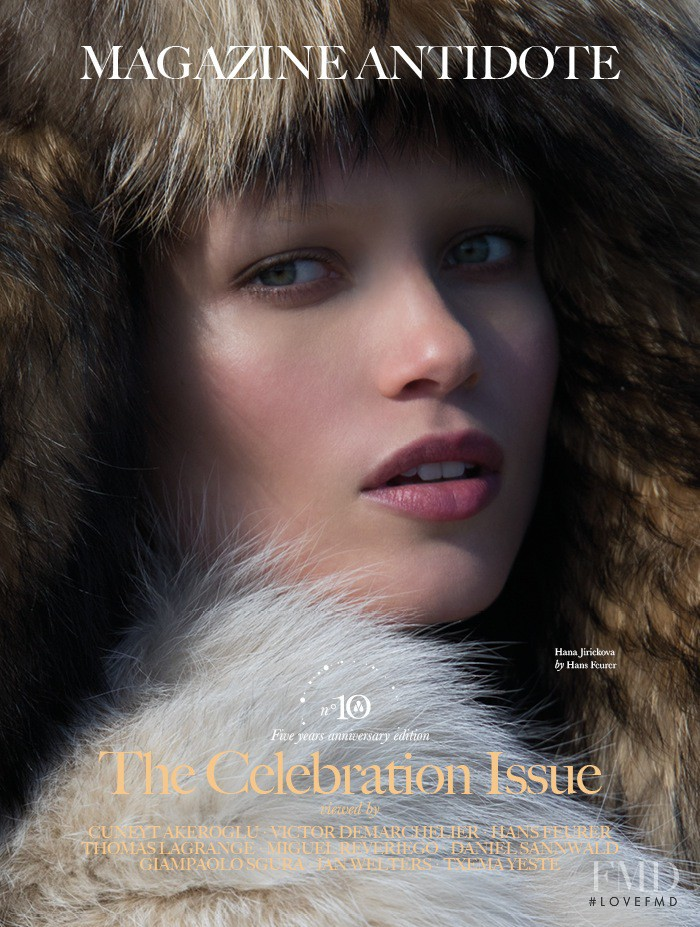 Hana Jirickova featured on the Antidote cover from September 2015