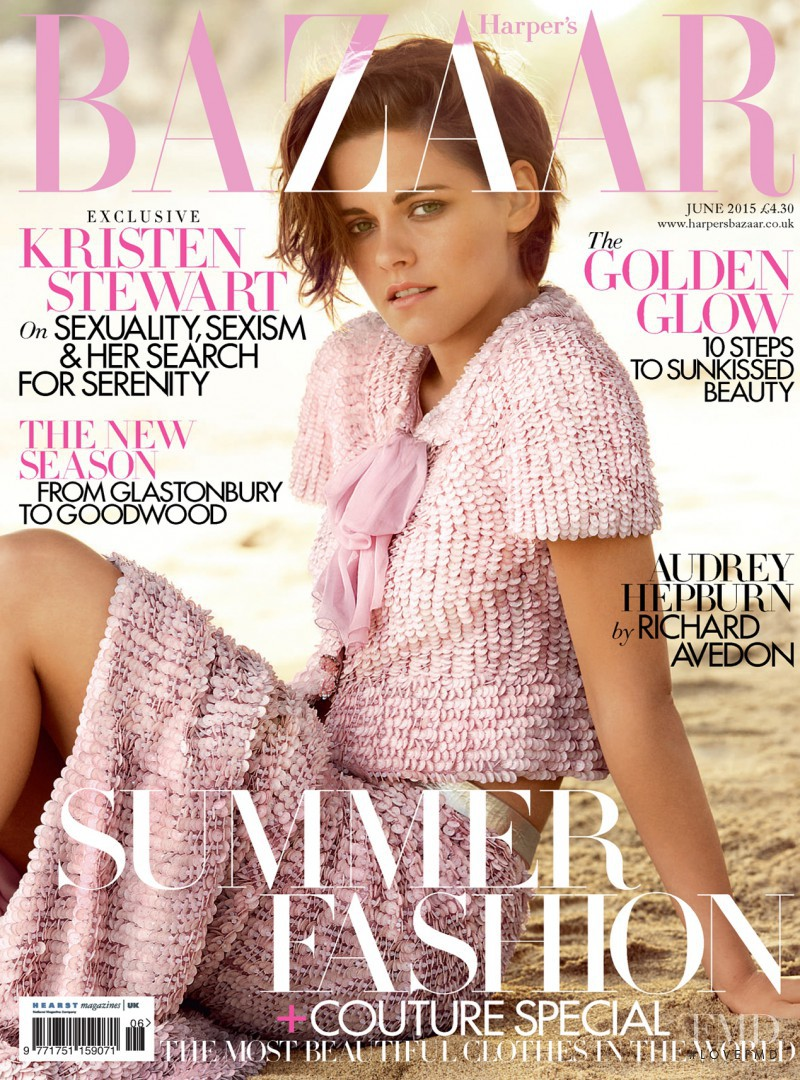 featured on the Harper\'s Bazaar UK cover from June 2015