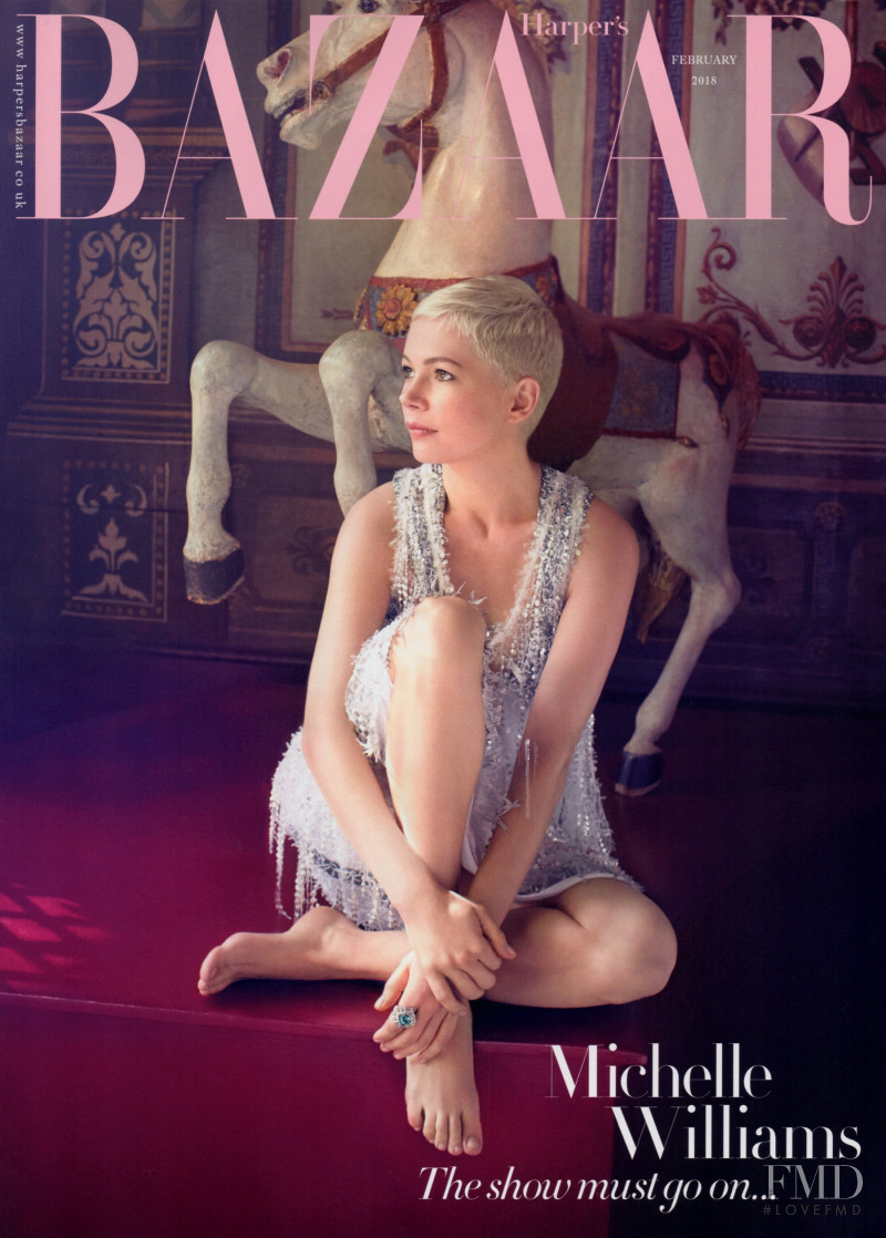 featured on the Harper\'s Bazaar UK cover from February 2018