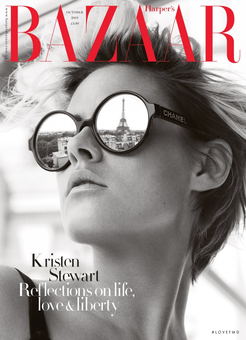 featured on the Harper\'s Bazaar UK cover from October 2019