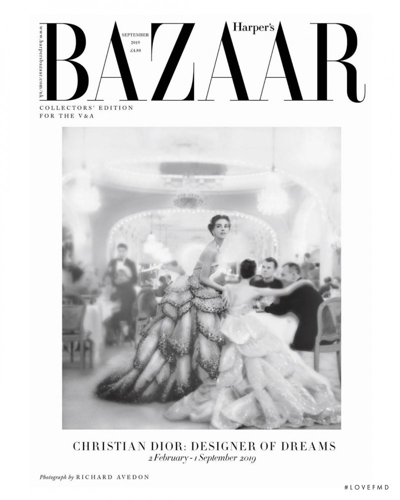 featured on the Harper\'s Bazaar UK cover from September 2019