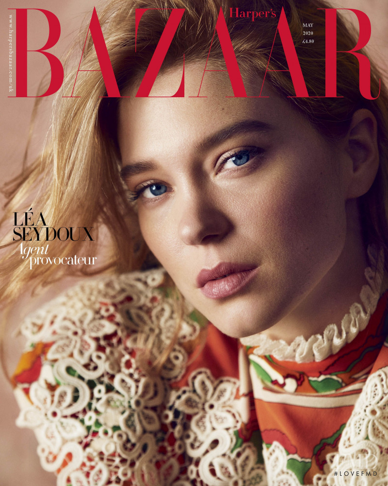featured on the Harper\'s Bazaar UK cover from May 2020