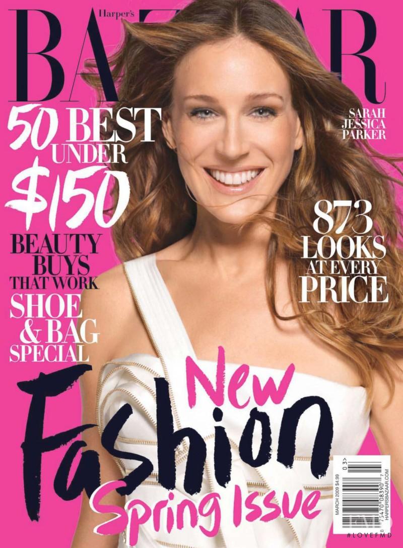 Sarah Jessica Parker In Harpers Bazaar March 2009