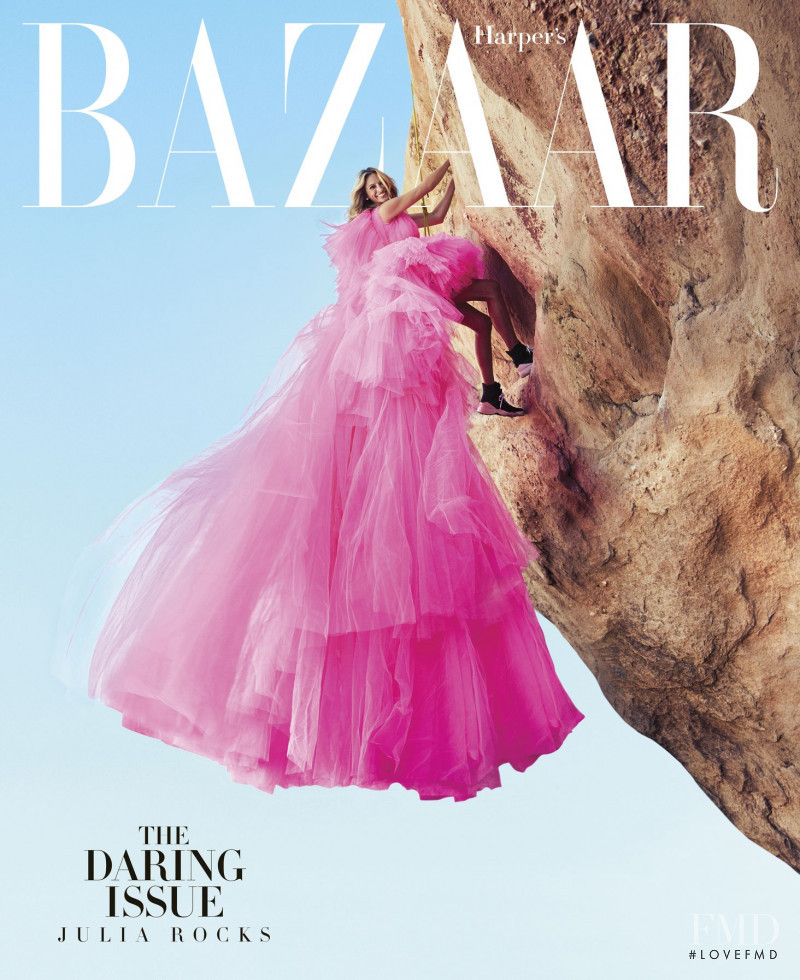 Julia Roberts featured on the Harper\'s Bazaar USA cover from November 2018