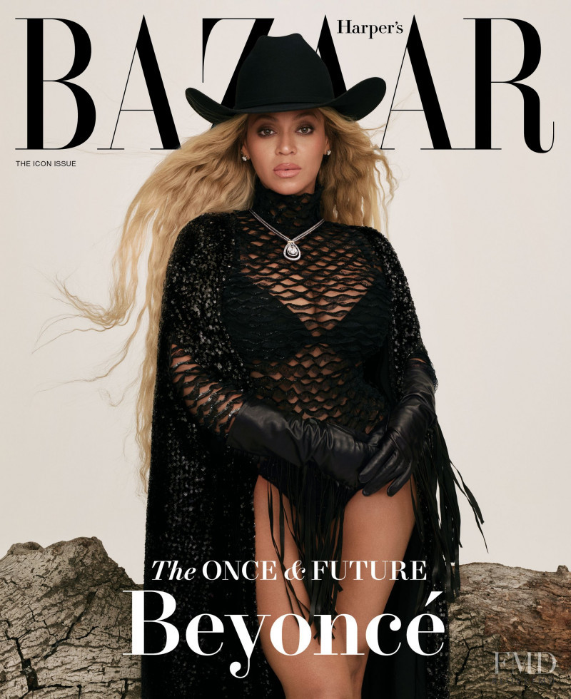 Beyonce featured on the Harper\'s Bazaar USA cover from September 2021