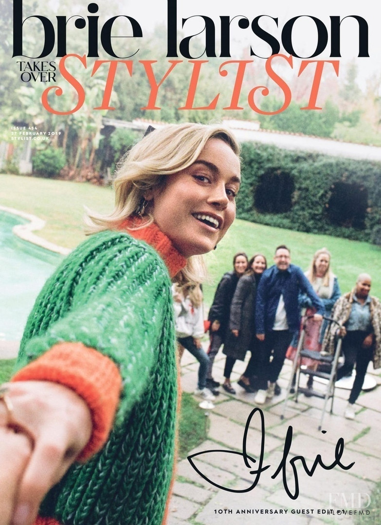 Bire Larson featured on the Stylist cover from February 2019