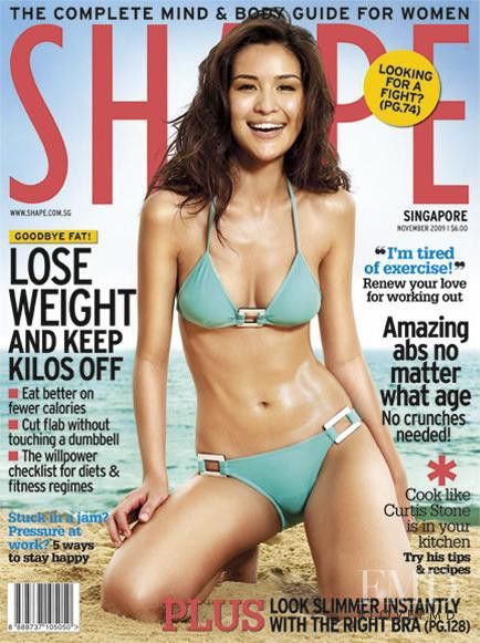 featured on the Shape Singapore cover from November 2009