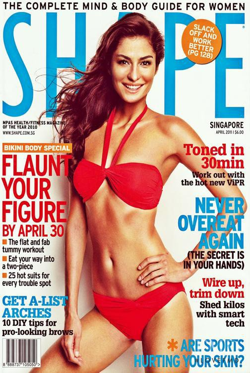 featured on the Shape Singapore cover from April 2011