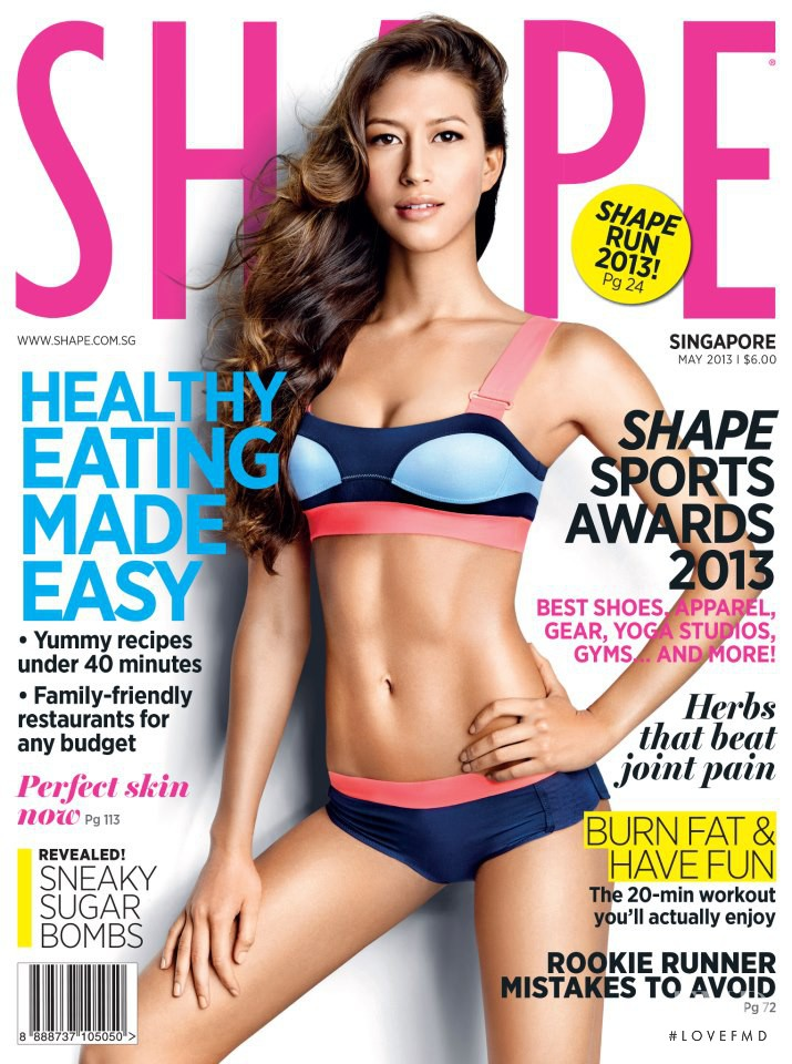 featured on the Shape Singapore cover from May 2013