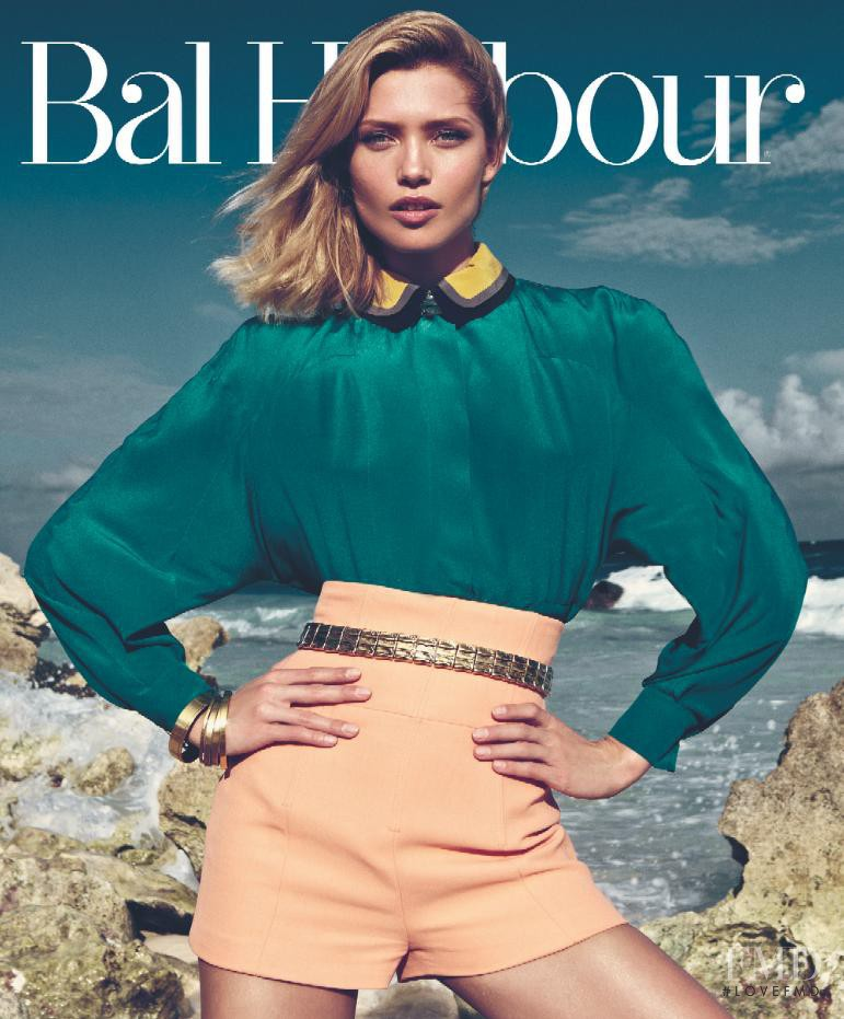 Hana Jirickova featured on the Bal Harbour cover from March 2013
