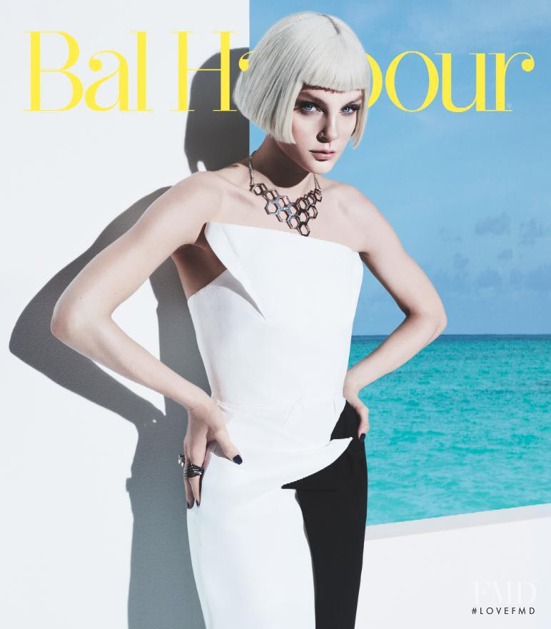 Jessica Stam featured on the Bal Harbour cover from March 2013
