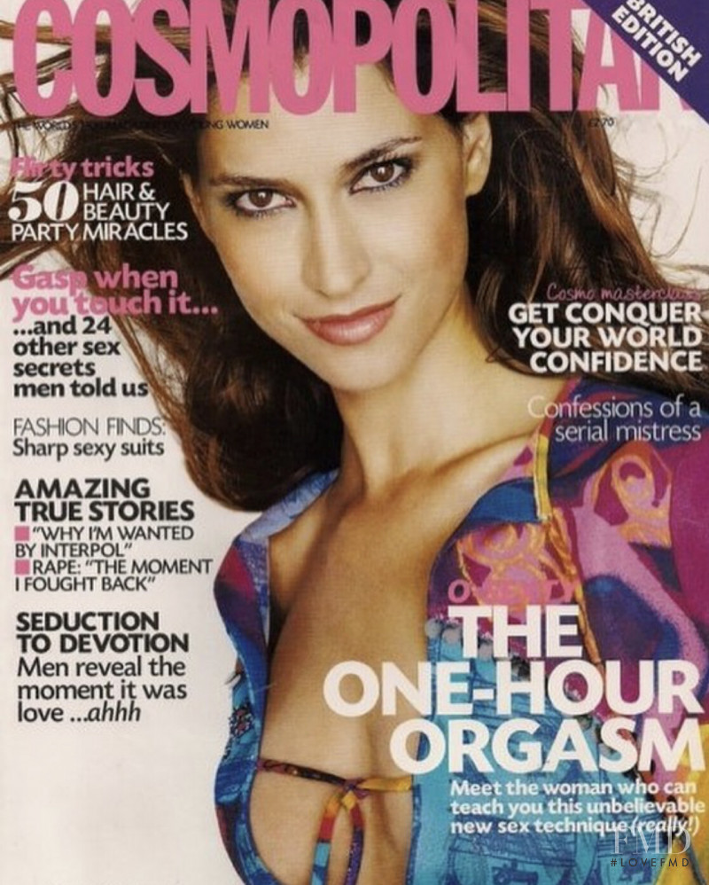 Hila Marin featured on the Cosmopolitan UK cover from November 2000