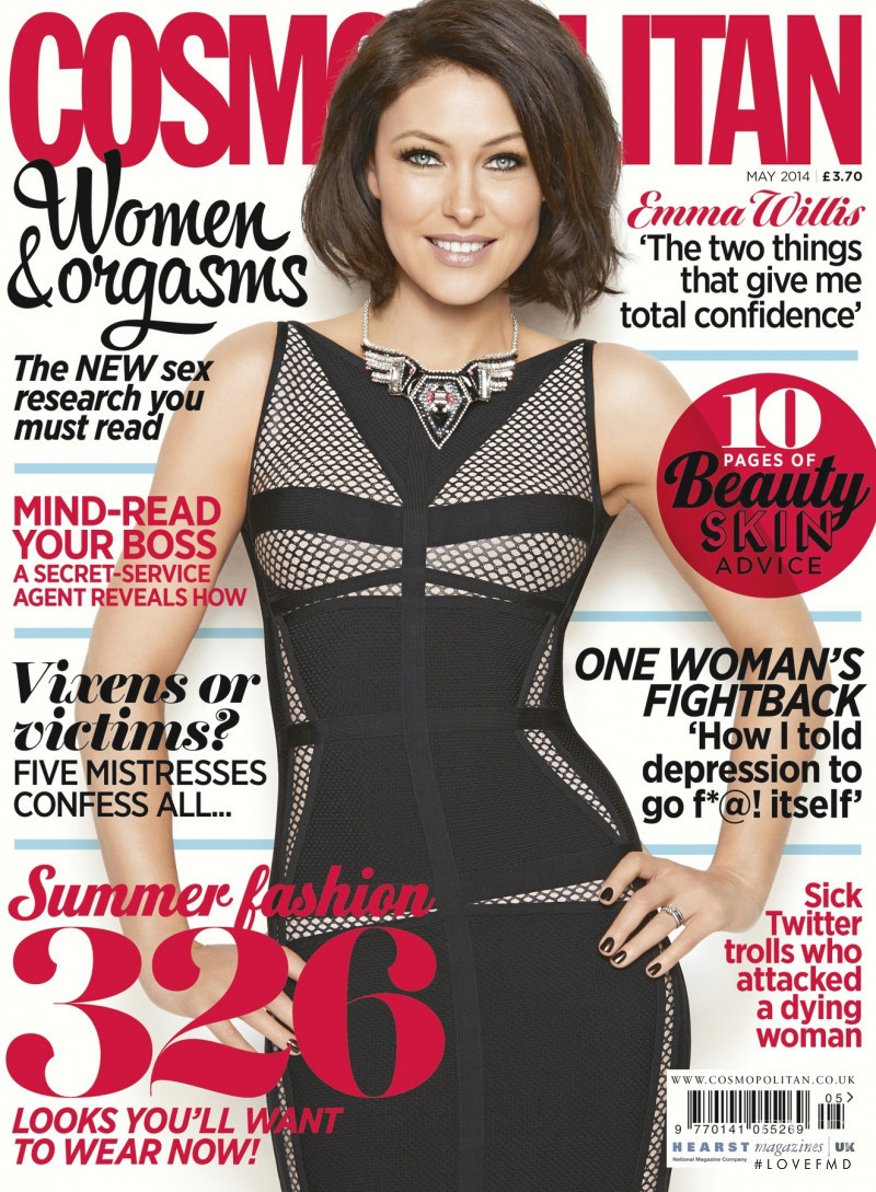 Emma Griffiths featured on the Cosmopolitan UK cover from May 2014