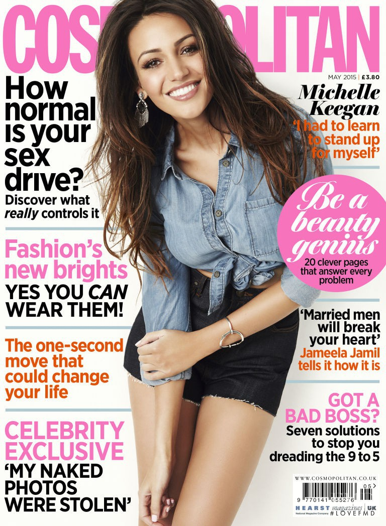 featured on the Cosmopolitan UK cover from May 2015