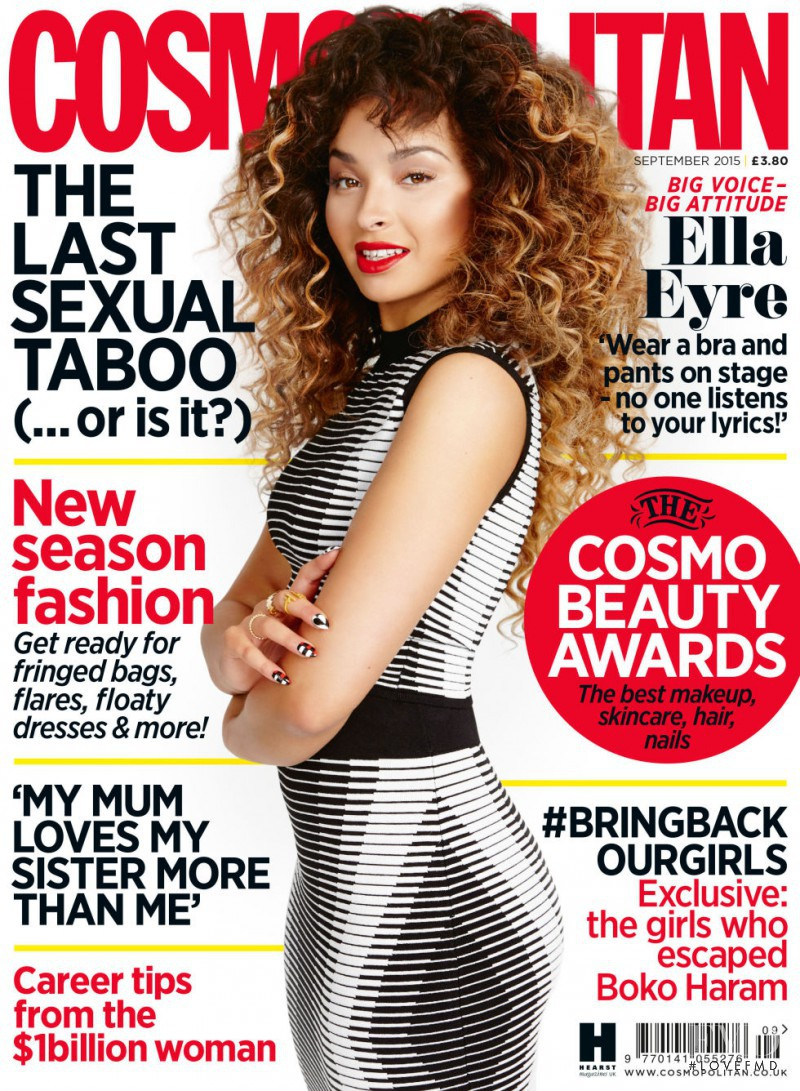 featured on the Cosmopolitan UK cover from September 2015