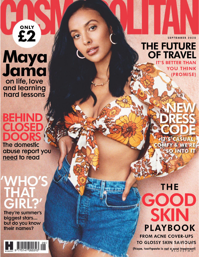 featured on the Cosmopolitan UK cover from September 2020