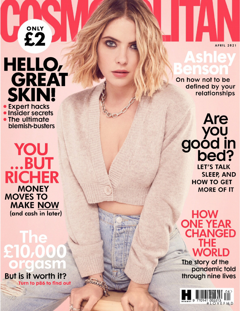 featured on the Cosmopolitan UK cover from April 2021