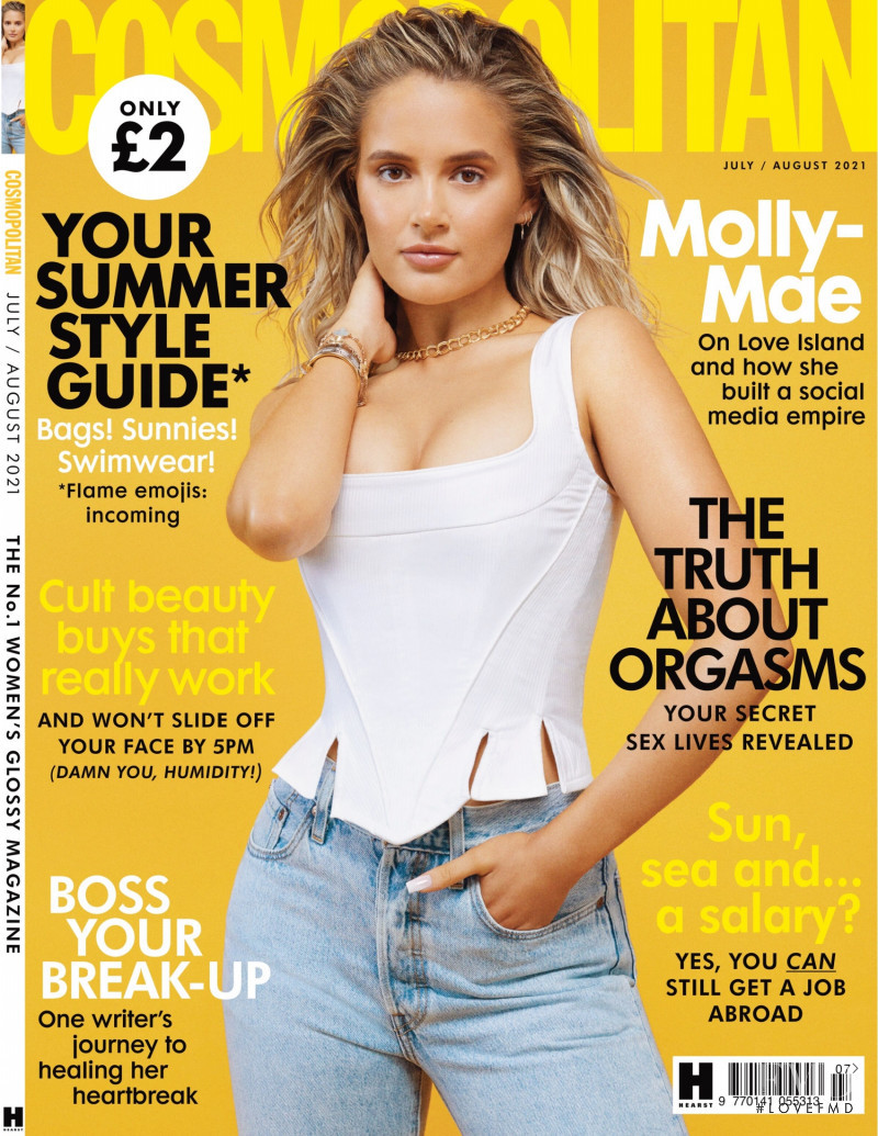 featured on the Cosmopolitan UK cover from July 2021