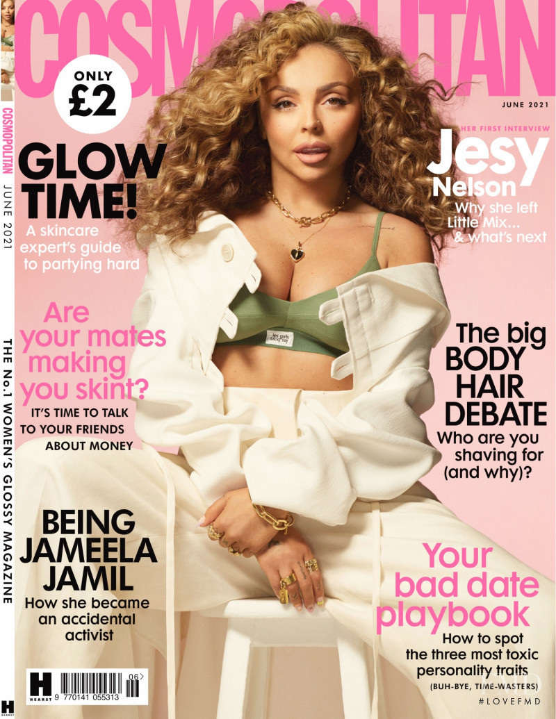featured on the Cosmopolitan UK cover from June 2021