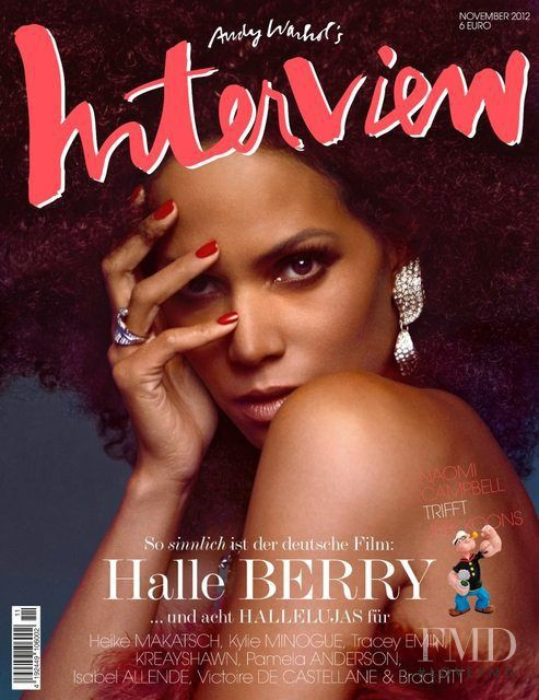 Halle Berry featured on the Interview Germany cover from November 2012