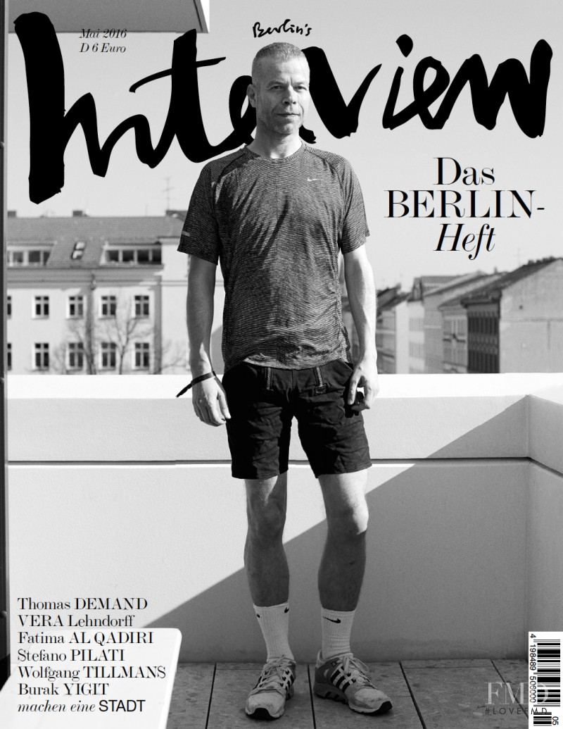 featured on the Interview Germany cover from May 2016