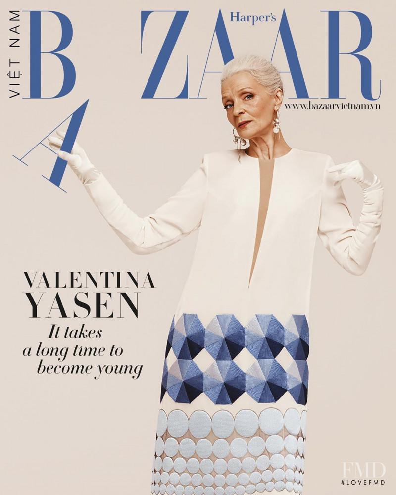 Valentina Yasen featured on the Harper\'s Bazaar Vietnam cover from June 2020