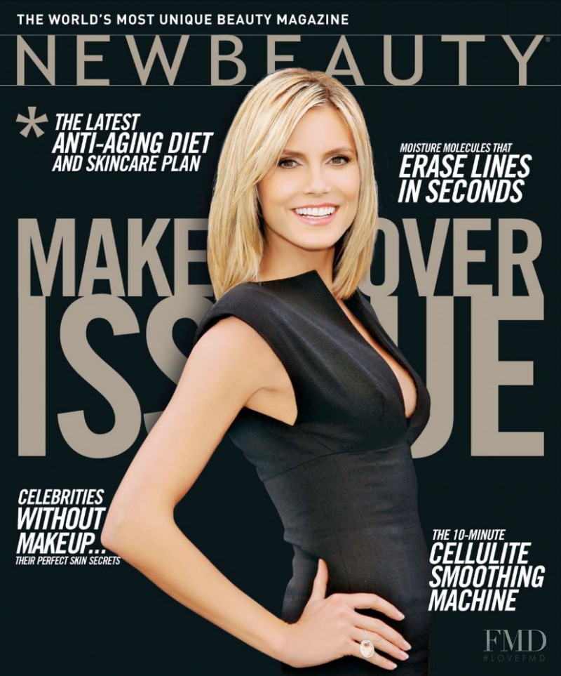 Cover Of New Beauty Magazine With Heidi Klum, September