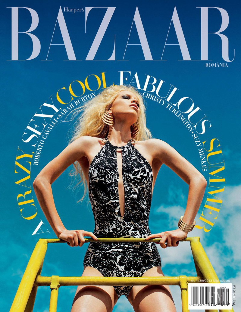 featured on the Harper\'s Bazaar Romania cover from July 2013