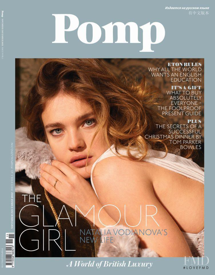 Natalia Vodianova featured on the Pomp cover from December 2012