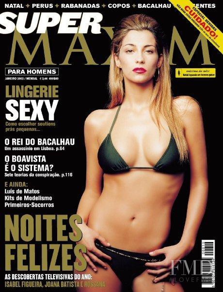 Isabel Figueira featured on the Maxim Portugal cover from January 2002