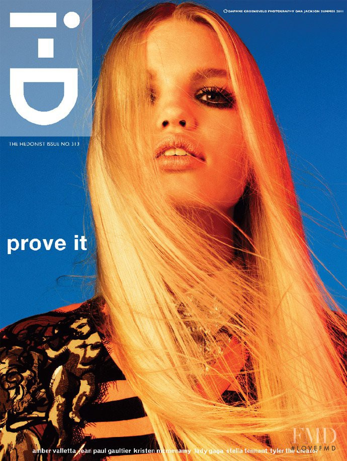 Daphne Groeneveld featured on the i-D cover from June 2011