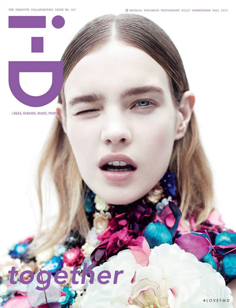 Natalia Vodianova featured on the i-D cover from September 2013