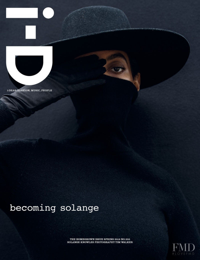 Solange Knowles featured on the i-D cover from February 2019