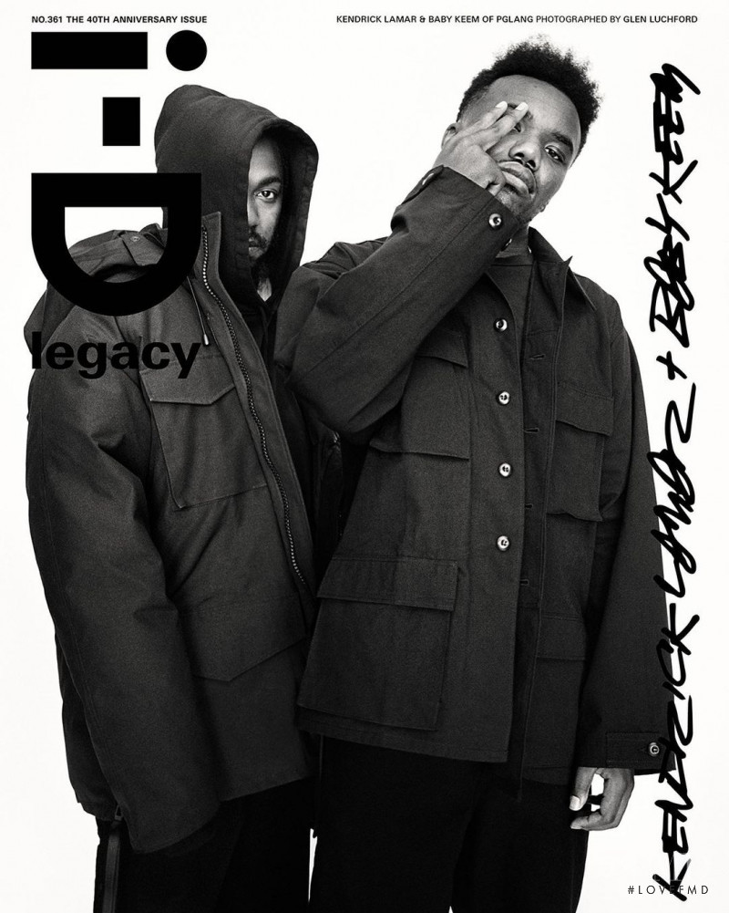 Kendrick Lamar, Baby Keem) featured on the i-D cover from October 2020