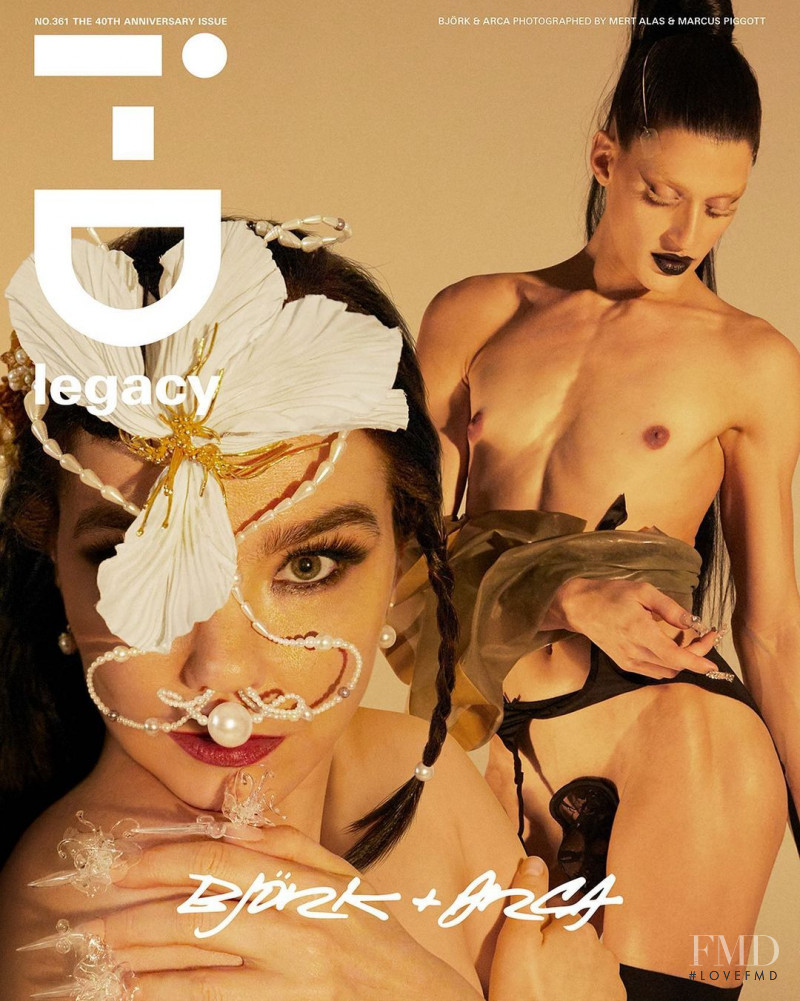 Bjork, Arca featured on the i-D cover from October 2020