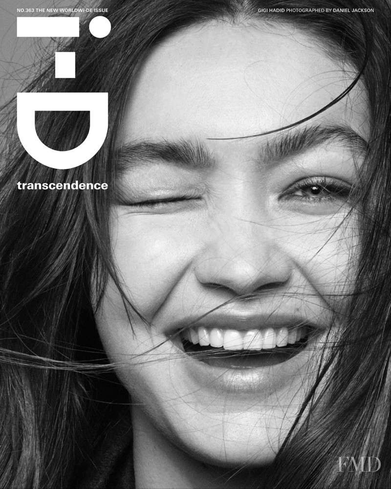 Gigi Hadid featured on the i-D cover from June 2021