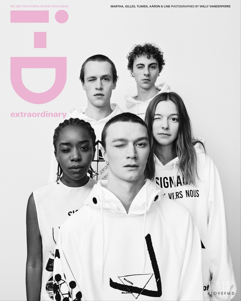 Martha, Gilles, Tijmen, Aaron and Line featured on the i-D cover from March 2021