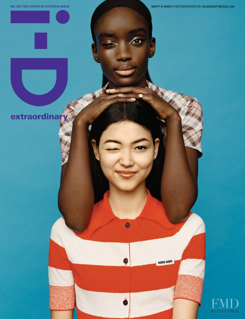 Mika Schneider, Maty Fall Diba featured on the i-D cover from March 2021