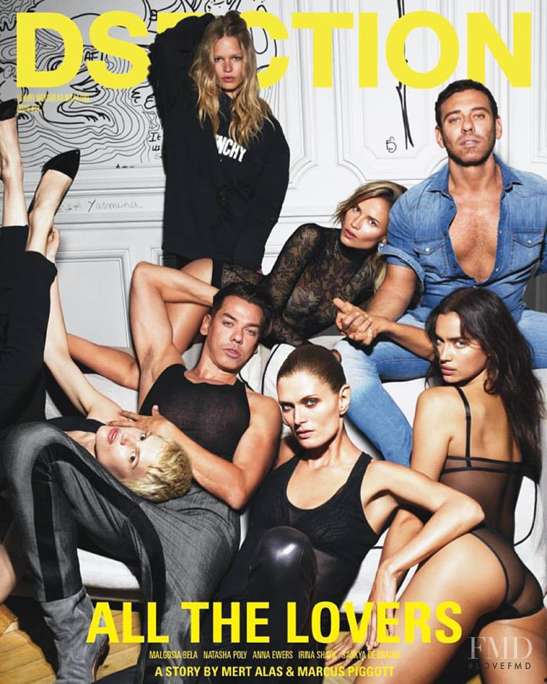 Malgosia Bela, Saskia de Brauw, Natasha Poly, Irina Shayk, Anna Ewers featured on the Dsection cover from September 2015